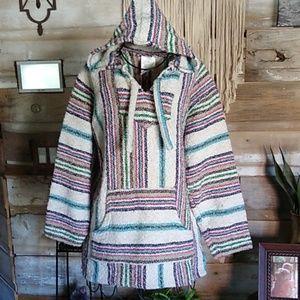 Oland Boho Hippie Drug Rug Hoodie Pullover